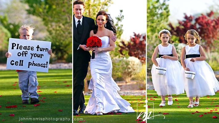 Lakes las vegas wedding
