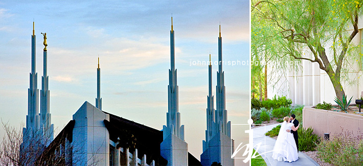 Las Vegas Mormon Temple Wedding