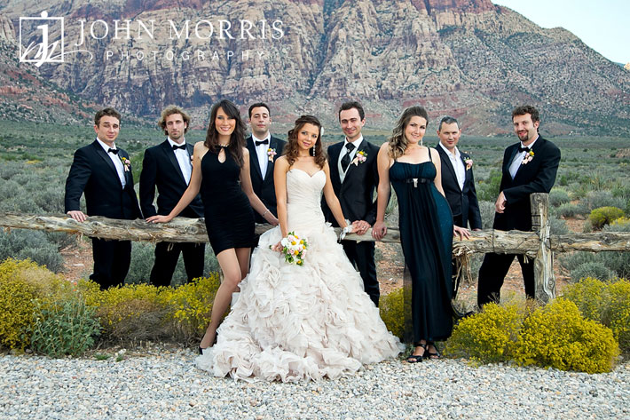 Las Vegas Wedding Photography Red Rock