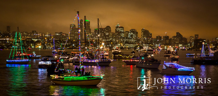 Seattle Argosy Christmas Ship Parade 2012